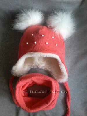 шапка зима 0-9 р. в асортименті