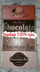 Палетки теней шоколадки от Too Faced