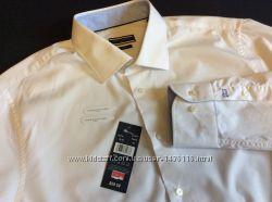 Мужская рубашка TOMMY HILFIGER оригинал новая Размер ворот 42 L