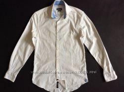 Мужская рубашка Tommy Hilfiger slim fit размер L-XL