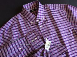 Мужская рубашка BOSS HUGO BOSS оригинал  Размер M-L 40