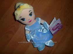 Фирменная мягкая плюшевая кукла принцесса Золушка DISNEY  . Оригинал.