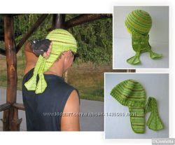 летняя бандана женская мужская вязаная спортивная шапочка унисекс