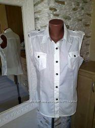 Лёгкая летняя приталенная рубашка