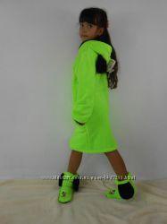 Детский махровый халат Минни