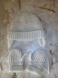 Набор шапочка рукавички Zara