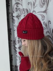 Комплект Рубин-шапка и варежки