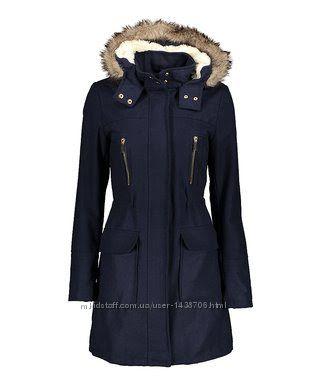 Новое демисезонное пальто р. S, M, L, XL