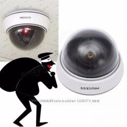 Купольная камера видеонаблюдения муляж