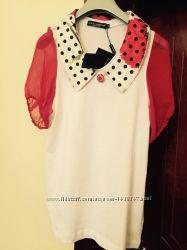 Изумительное футболка-блузочка Dolce Gabbana