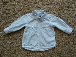 Стильна сорочка H&M 6-9 міс. буде довше