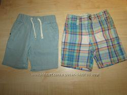 фирменные шорты на мальчика 12-24 мес много