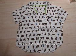 рубашечки Некст, H&M  на мальчика 6-12 мес