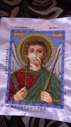 вышитая икона Ангел Хранитель