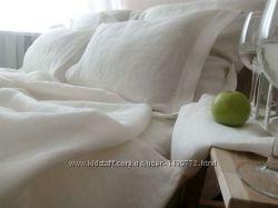Постельное белье из натурального льна. Льняной комплект белья