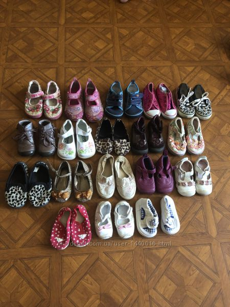 Обувь все сезоны размер 18-19-20-21-22-23-24
