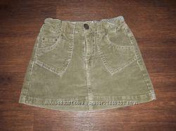 юбка зеленая NEXT на рост 116-128 см