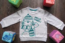 Тёплый джемпер свитер Baby Club р. 74