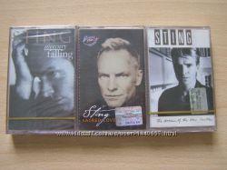 Нові аудіокасети Стинг 3 штуки