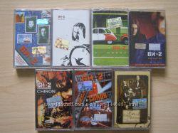 Нові аудіокасети Би-2 7 штук