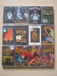Нові аудіокасети Крематорий 11 штук