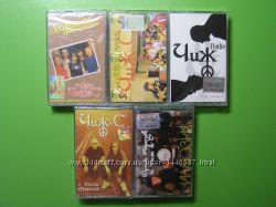 Нові аудіокасети Чиж 5 штук