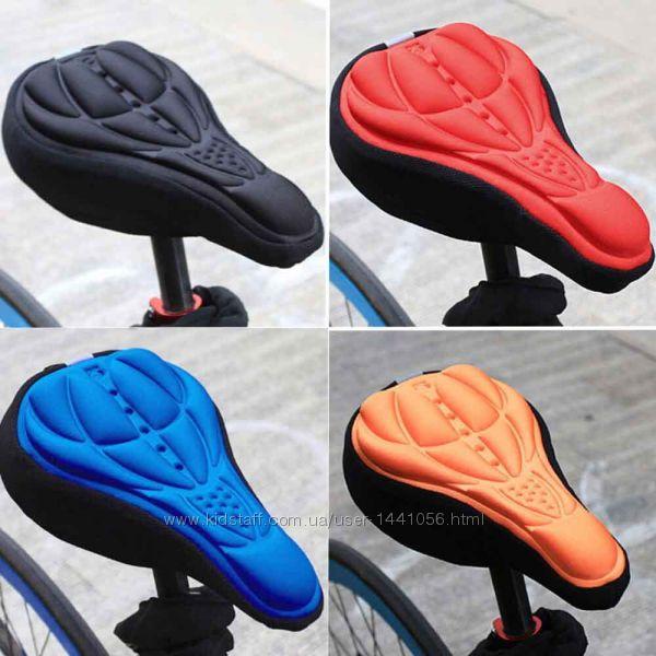 Чехол для велосипеда на сиденье велосипеда велочехол, 4 цвета.