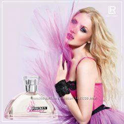 Свежая парфюмерная вода LR Rockin Romance Плюс Рукавичка в подарок