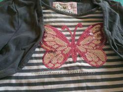 Наши юбки шорты платья H&M 92, 110-116рост на 4-6 лет 120-122см