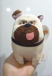 Собака собачка такса Бадди приятель и мопс Мел из мультика Тайная жизнь до