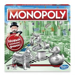 Настольная игра Hasbro Монополия Обновленная на украинском языке C1009