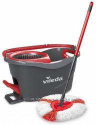 Швабра с отжимом VILEDA Easy Wring Clean Turbo, Изи Вринг Турбо