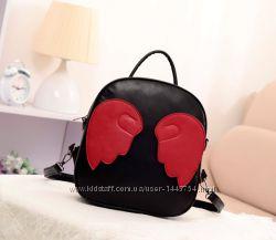 Оригинальный городской рюкзак с крыльями ангела