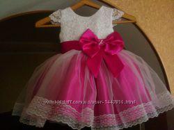 15a4eceba3d Нарядное детское платье на годик год пышное праздничное торжество вечернее
