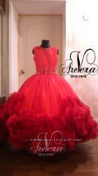 1150703d40c Нарядное детское платье облако праздничное вечернее выпускной красное