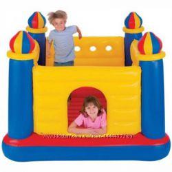 Детский надувной батут Замок ТМ Intex 48259