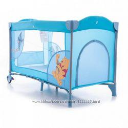 Детский манеж кровать A 03-8 двухуровневый