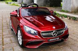 Акция Машинка Mercedes Benz AMG S63 ру 2, 4G, кож. сидение