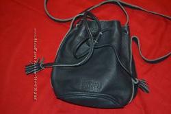 фирменный кожаный рюкзачок Jack wills