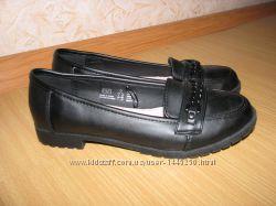 FF школьные туфли как новые 35-36 р по вст 23 см