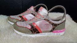 gioseppo кроссовки 36 р по ст 23. 5 см замша-текстиль