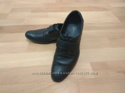 Школьные кожанные туфли для мальчика тм Берегиня размер 37