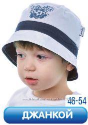 Хлопковая панамка для мальчика Джанкой ТМ Elf-kids
