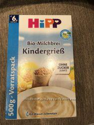 Hipp дитячі каши різні просрочка привезені з Німеччини усі запаковані