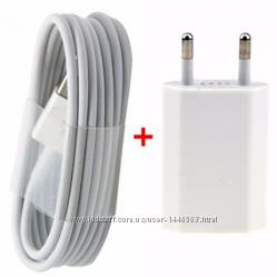 Зарядное 2в1  USB кабель IPHONE 5, 5s, 6 6S, 6, 7, 7, 8, 8