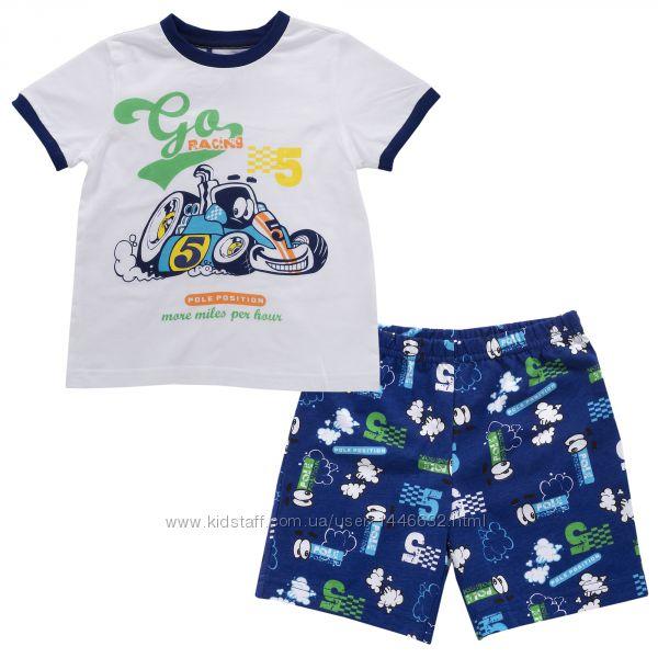 Модные, мягкие и натуральные пижамы Chicco для мальчиков