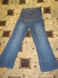 Красивые качественные джинсы для беременной, рр L