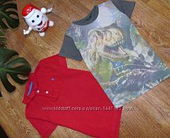 Фирменные футболки Next и  Rebel