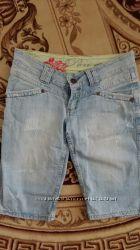 Бриджи стильные джинсовые