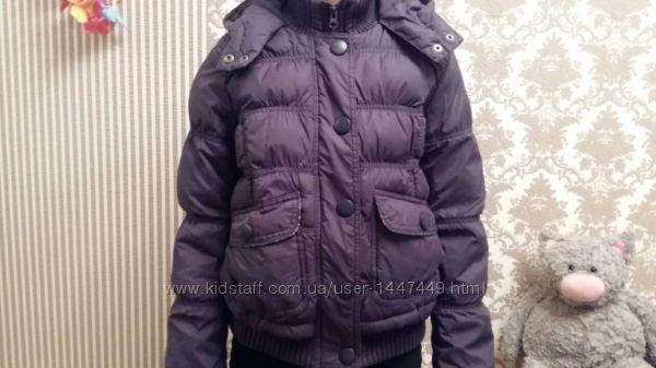 Курточка теплая с капюшоном